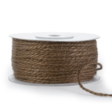 Jute Cord - 50 Yards - Chocolate