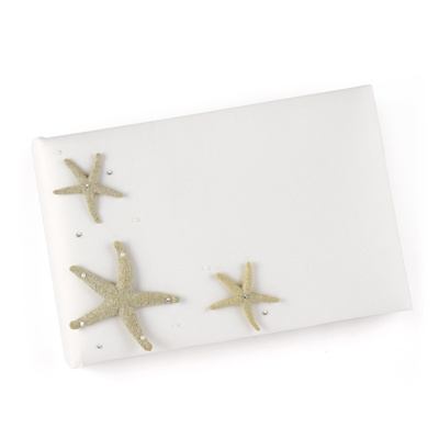 Starfish Guest Book and Pen Set