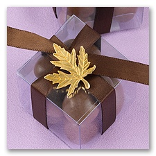 Gold Maple Leaf Charm