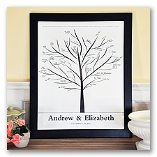 Family Tree Signature Canvas