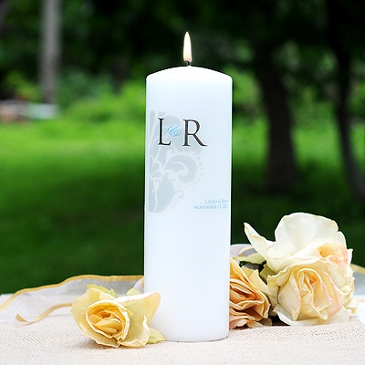 Simple Elegance Unity Candle