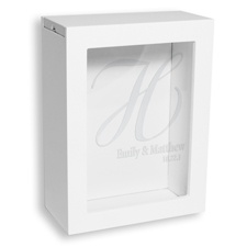 White Unity Sand Shadow Box