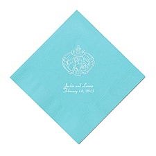 Cinderella - Pool Dinner Napkins in Foil