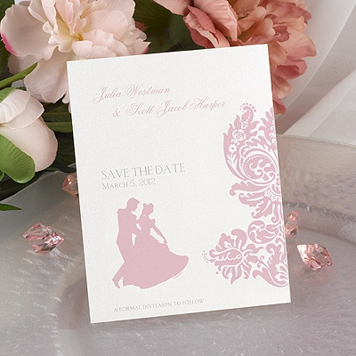 Enchanted Evening - Save the Date Card