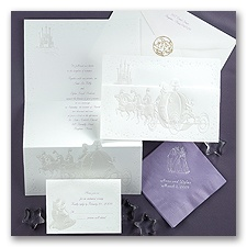 Cinderella Dreams Come True - Invitation
