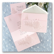 Dreams Come True In Pink - Invitation