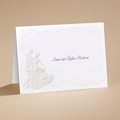 Cinderella Dreams Come True - Note Card and Envelope