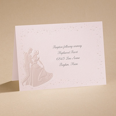 Dreams Come True In Pink - Reception Card