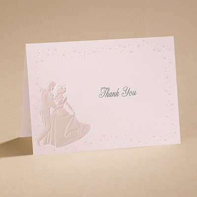 Dreams Come True In Pink - Thank You Card With Envelope