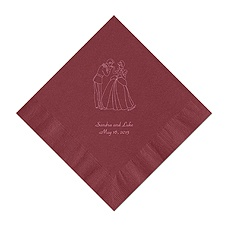 Cinderella - Wine Dinner Napkins in Foil