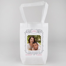 Vintage Frame Personalized Tote Bag