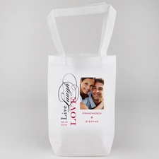 Live Laugh Love Personalized Tote Bag