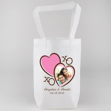 Hugs and Kisses Personalized Tote Bag
