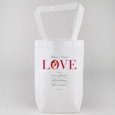Love Personalized Tote Bag