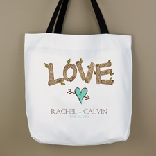Rustic Love Tote Bag
