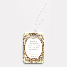 Fancy Frame - Photo Luggage Tag