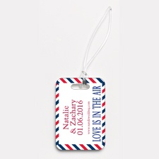 Flying High - Couple's - Photo Luggage Tag