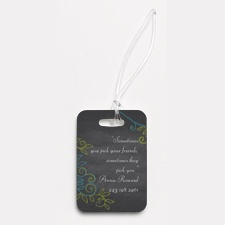 Chalky Vines - Photo Luggage Tag