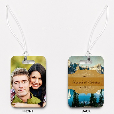 Sierra Splendor - Couple's - Photo Luggage Tag