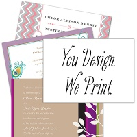 "You Design, We Print - 5"" x 7"" - Invitation"
