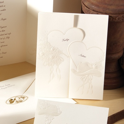 Country Elegance - Invitation