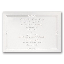 Tailored - Horizontal - Invitation