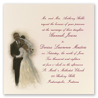 First Dance - Invitation