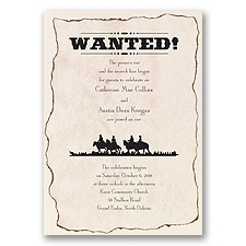 Wanted! - Invitation