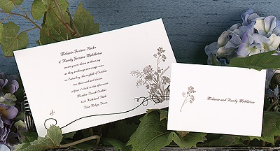 Wildflower Whimsy - Invitation