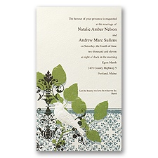 Vintage Perch - Invitation