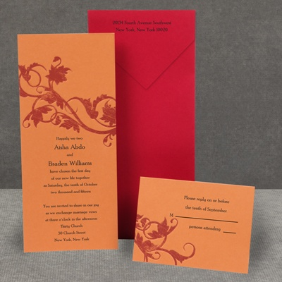 Pumpkin Passion - Invitation