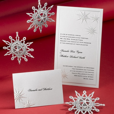 Winter Wishes - Invitation