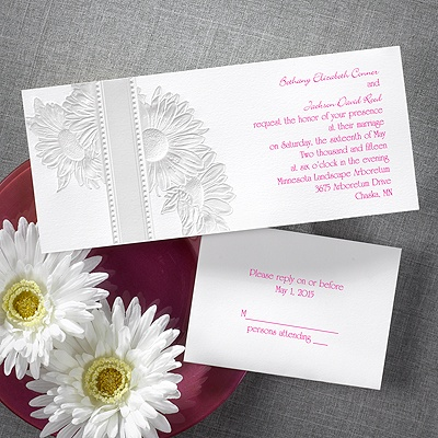 Daisy Bouquet - Invitation