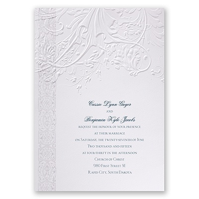 Layered Filigree - Invitation