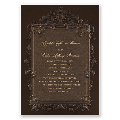 Rich Elegance - Invitation