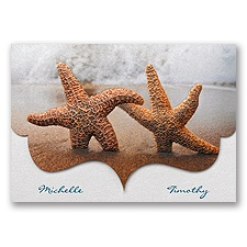 Smitten Starfish - Invitation