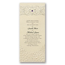Flowing Artistry Invitation - Rapunzel