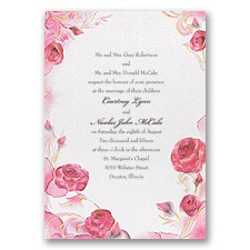 Briar Rose Invitation - Aurora