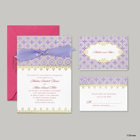 Disney - Exotic Romance Invitation - Jasmine