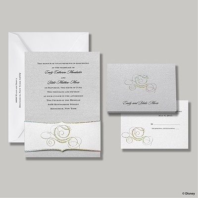 Fairy Tale Carriage Invitation