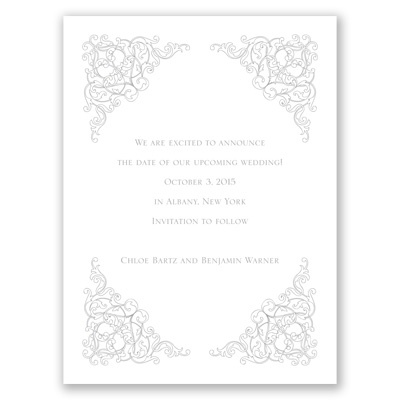 Vintage Vision - Save the Date Card