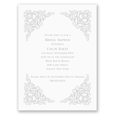 Vintage Vision - Bridal Shower Invitation
