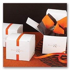 Ribbon Cake Favor Box