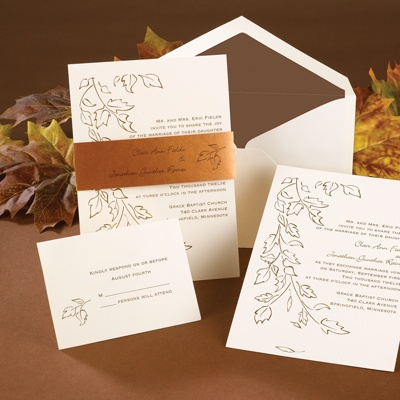 Copper Elegance - Invitation