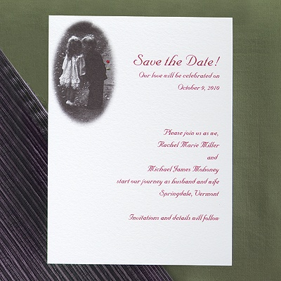 Sweethearts - Save the Date Card