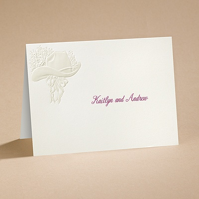 Country Elegance - Note Card and Envelope