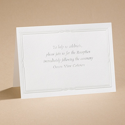 Tailored - Reception Card