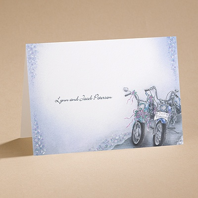 Born To Be Wed - Note Card And Envelope