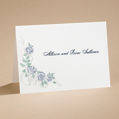 Isn't It Romantic - Note Card and Envelope