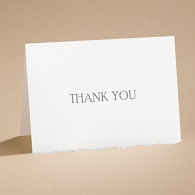 Days Gone By - Thank You Card with Verse and Envelope